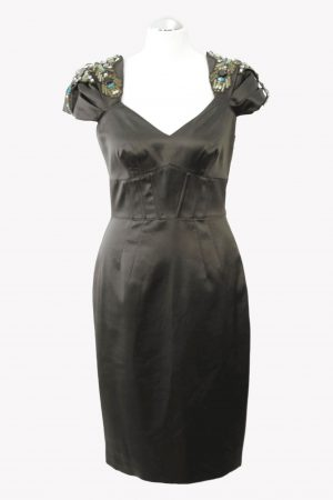 Karen Millen Kleid in Grün aus Polyester Alle Jahreszeiten.1