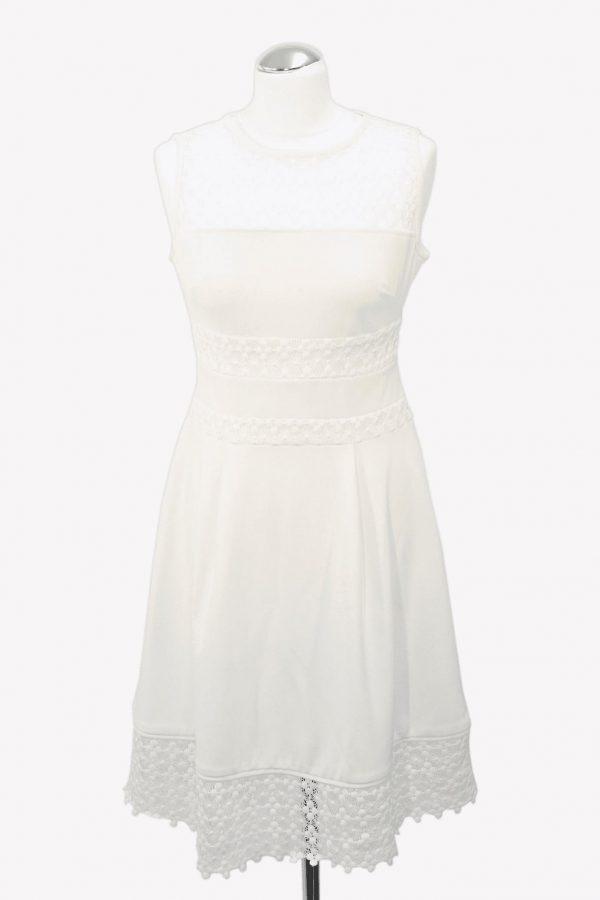 Ralph Lauren Shiftkleid in Weiß aus Polyester Alle Jahreszeiten.1