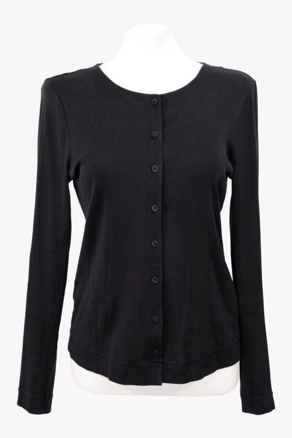 Hugo Boss Pullover in Schwarz aus Baumwolle aus Baumwolle Alle Jahreszeiten.1