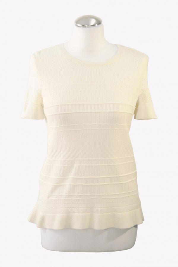 Ralph Lauren T-Shirt in Creme aus Baumwolle aus Baumwolle Alle Jahreszeiten.1
