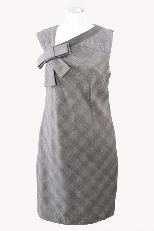 Ted Baker Shiftkleid in Grau aus Wolle aus Wolle Alle Jahreszeiten.1