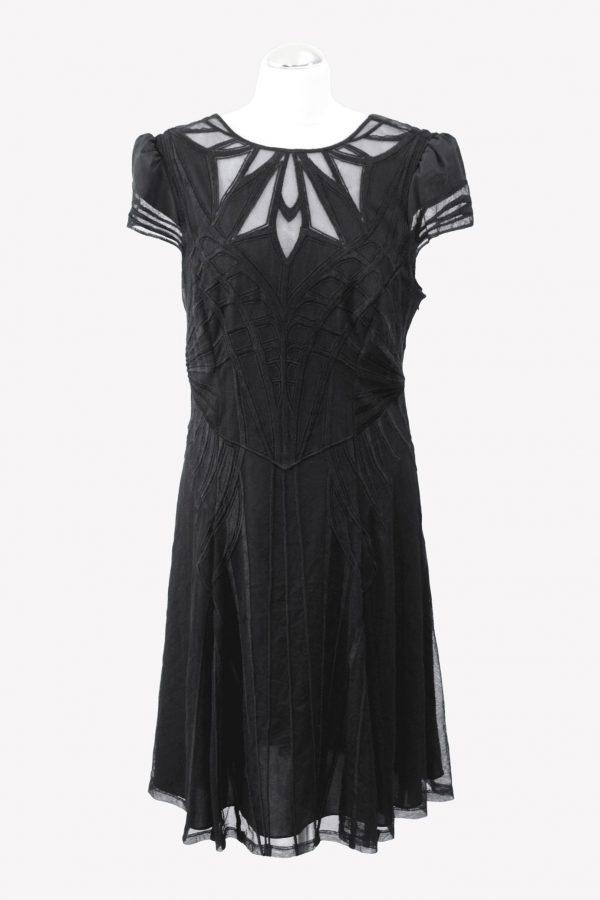 Karen Millen Shiftkleid in Schwarz aus Polyester Alle Jahreszeiten.1