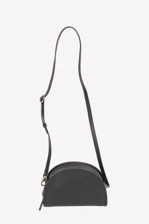 Polo Ralph Lauren Umhängetasche in Schwarz aus Leder.1