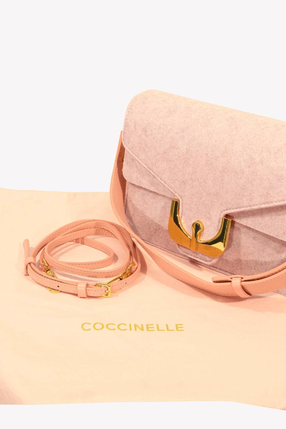 Umhängetasche in Rosa Coccinelle