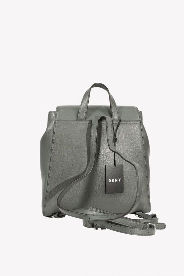 Rucksack in Grün aus Leder DKNY