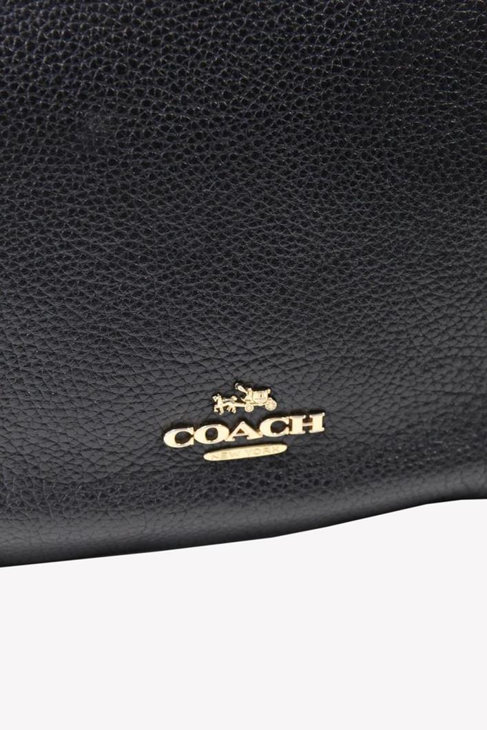 Umhängetasche in Schwarz aus Leder Coach