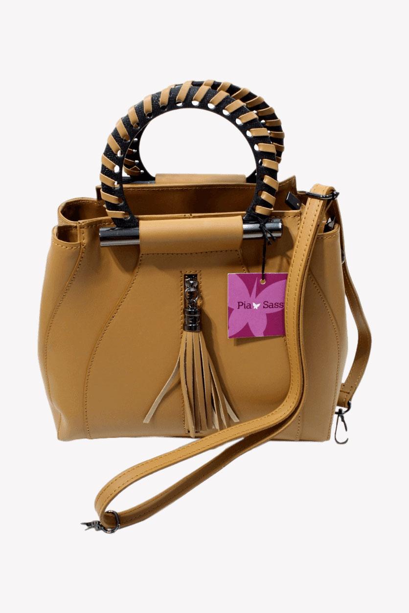 Handtasche in Braun Pia Sassi