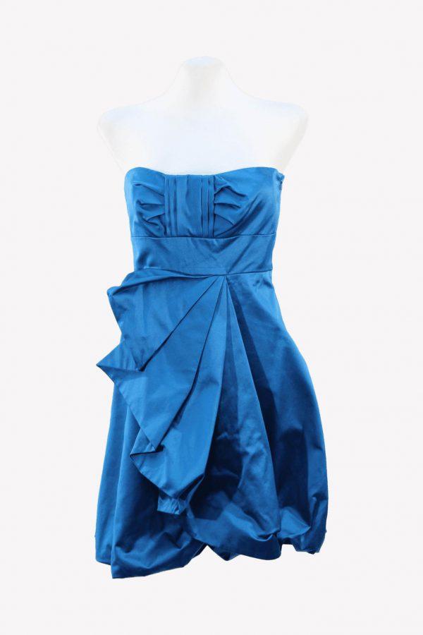 Karen Millen Skaterkleid in Blau aus Baumwolle aus Baumwolle Alle Jahreszeiten.1