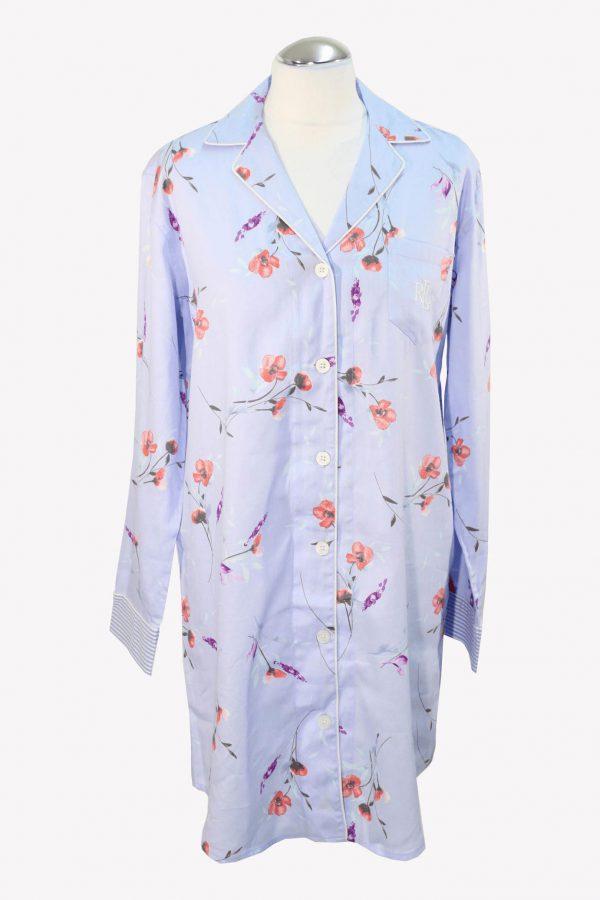 Ralph Lauren Nachthemden & -shirts in Blau aus Baumwolle aus Baumwolle Alle Jahreszeiten.1