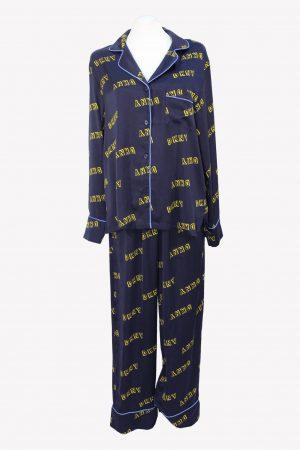 DKNY Pyjama-Sets in Blau aus Polyester Alle Jahreszeiten.1