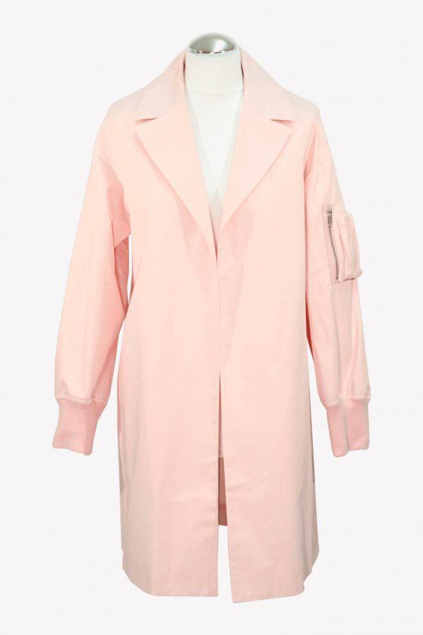 Moschino Trenchcoat in Rosa aus Baumwolle aus Baumwolle Alle Jahreszeiten.1
