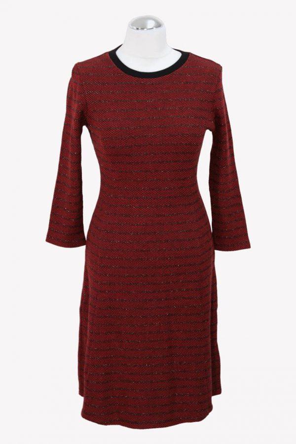 Hugo Boss Shiftkleid in Rot aus Baumwolle aus Baumwolle Alle Jahreszeiten.1