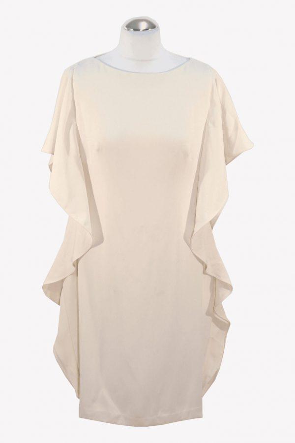 Ralph Lauren Shiftkleid in Creme aus Polyester Alle Jahreszeiten.1