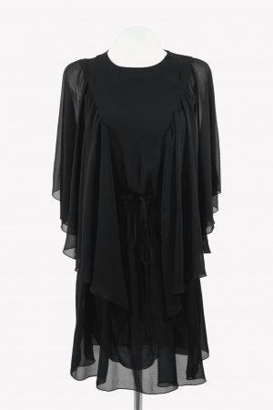 See by Chloé Shiftkleid in Schwarz aus Polyester Alle Jahreszeiten.1