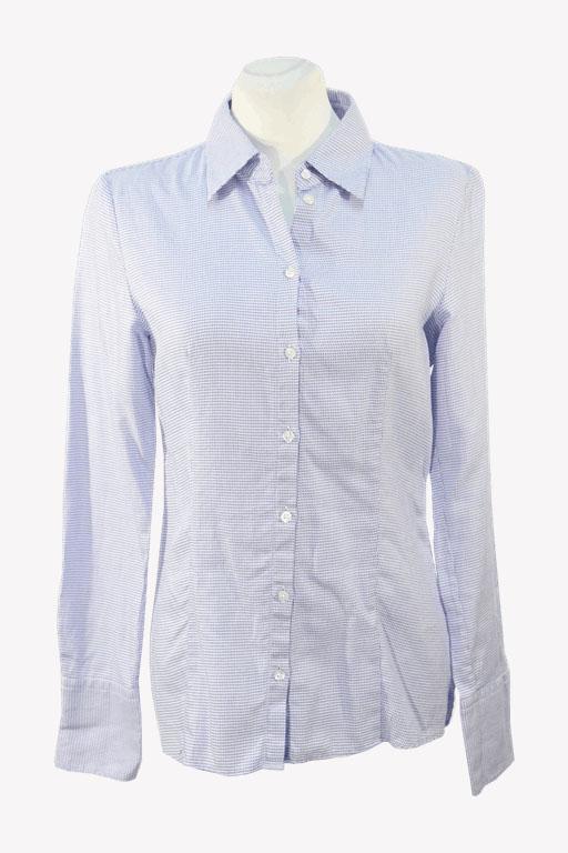Hugo Boss Bluse in Blau aus Baumwolle aus Baumwolle Alle Jahreszeiten.1