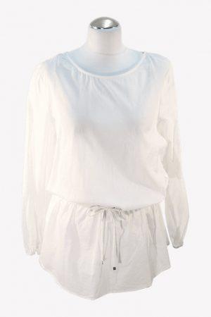 Michael Kors Badekleid in Weiß aus Baumwolle.1
