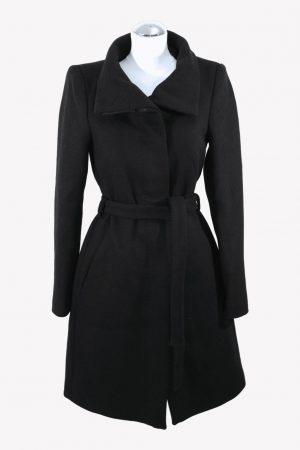 Drykorn Mantel in Schwarz aus Wolle aus Wolle Alle Jahreszeiten.1