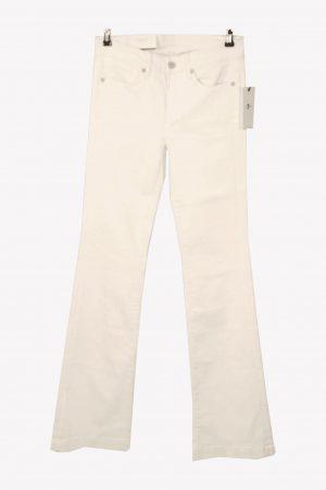 7 for All Mankind Jeans in Weiß aus Baumwolle aus Baumwolle Alle Jahreszeiten.1