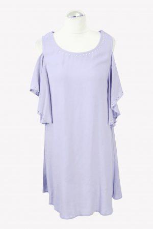 Michael Kors Badekleid in Lila aus Viskose Alle Jahreszeiten.1