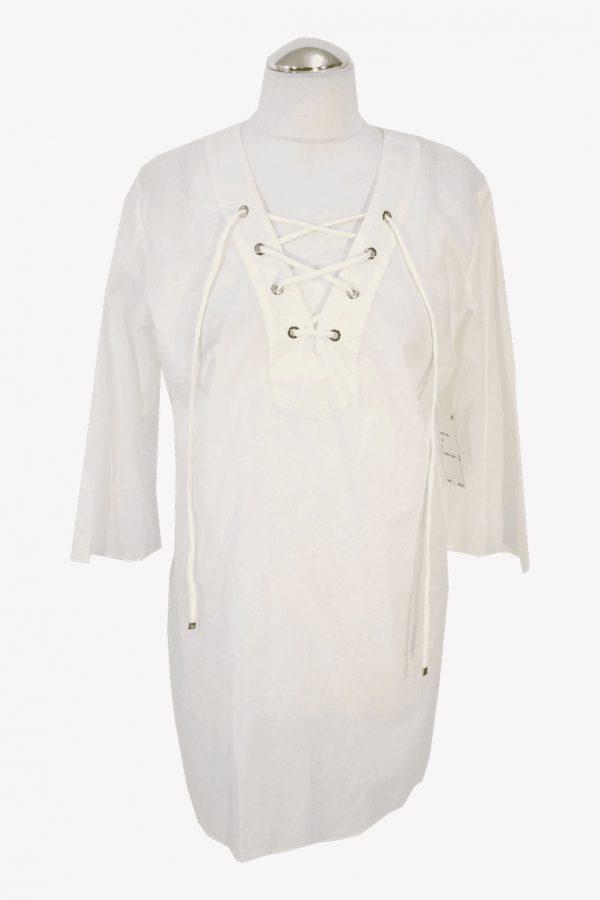 Michael Kors Badekleid in Weiß aus Baumwolle aus Baumwolle Frühjahr / Sommer.1