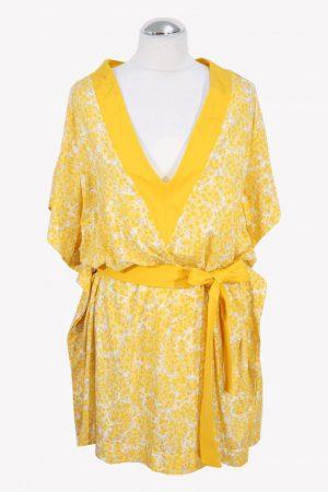 Michael Kors Badekleid in Gelb aus Nylon Frühjahr / Sommer.1