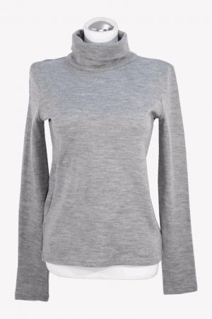 Patrizia Pepe Pullover in Grau aus Wolle aus Wolle Alle Jahreszeiten.1