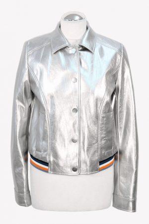 Hugo Boss Bomberjacke in Silber aus Polyester Alle Jahreszeiten.1