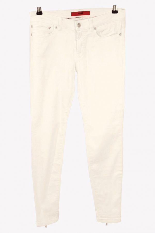 Hugo Boss Jeans in Weiß aus Baumwolle aus Baumwolle Alle Jahreszeiten.1
