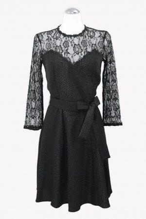 The Kooples Shiftkleid in Schwarz aus Polyester Alle Jahreszeiten.1