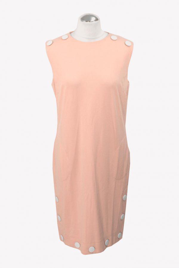 Love Moschino Shiftkleid in Rosa aus Viskose Alle Jahreszeiten.1