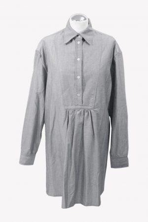 McQ Alexander McQueen Shiftkleid in Blau aus Baumwolle aus Baumwolle Alle Jahreszeiten.1