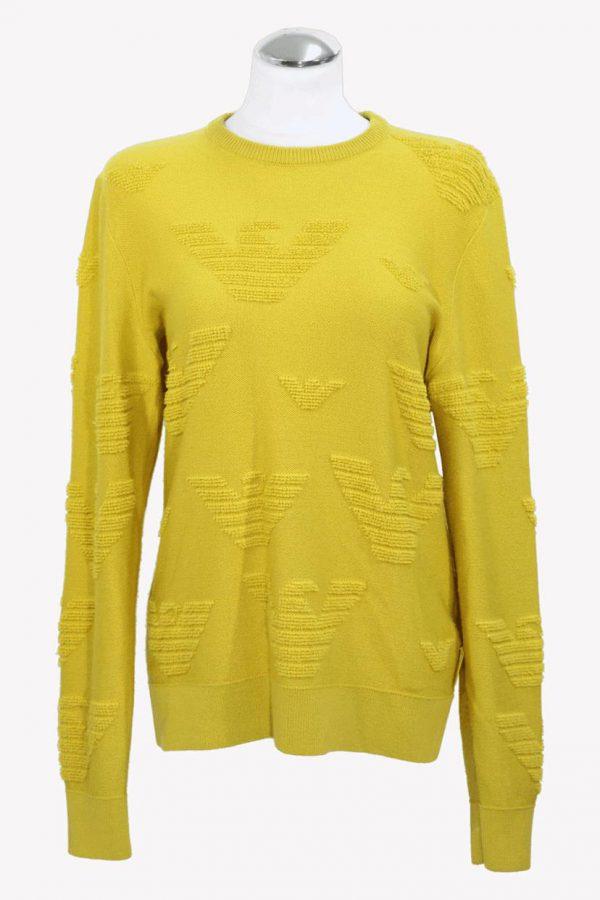 Armani Pullover in Gelb aus Wolle aus Wolle Alle Jahreszeiten.1