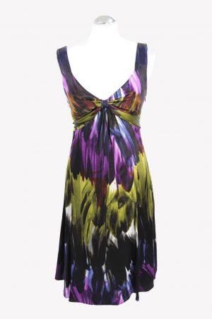 Ted Baker Trägerkleid in Multicolor aus Seide aus Seide Frühjahr / Sommer.1