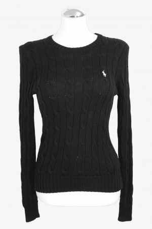 Ralph Lauren Pullover in Schwarz aus Baumwolle aus Baumwolle Alle Jahreszeiten.1