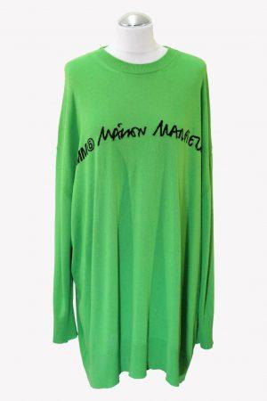 Maison Margiela Pullover in Grün aus Viskose Alle Jahreszeiten.1