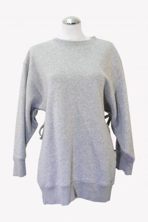 Tommy Hilfiger Pulloverkleid in Grau aus Baumwolle aus Baumwolle Alle Jahreszeiten.1