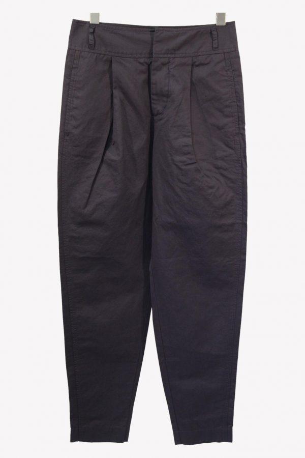 Hugo Boss Stoffhose in Lila aus Baumwolle aus Baumwolle Alle Jahreszeiten.1