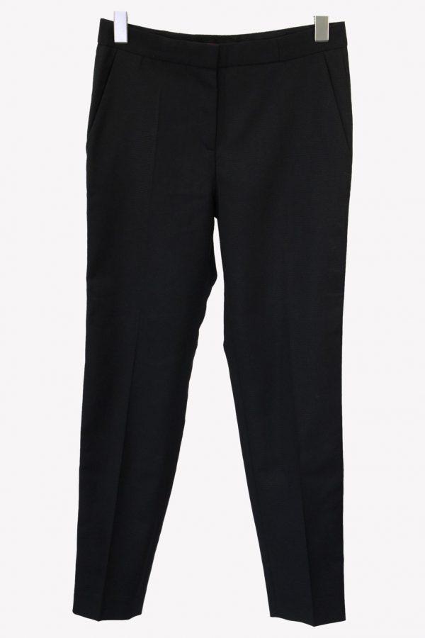 Hugo Boss Stoffhose in Schwarz aus Wolle aus Wolle Alle Jahreszeiten.1