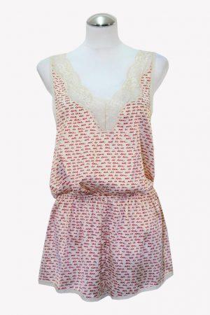 Stella McCartney Pyjama-Jumpsuit in Multicolor aus Seide aus Seide Alle Jahreszeiten.1