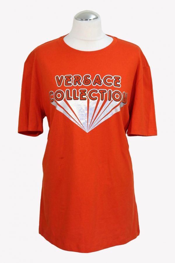 Versace T-Shirt in Rot aus Baumwolle aus Baumwolle Alle Jahreszeiten.1