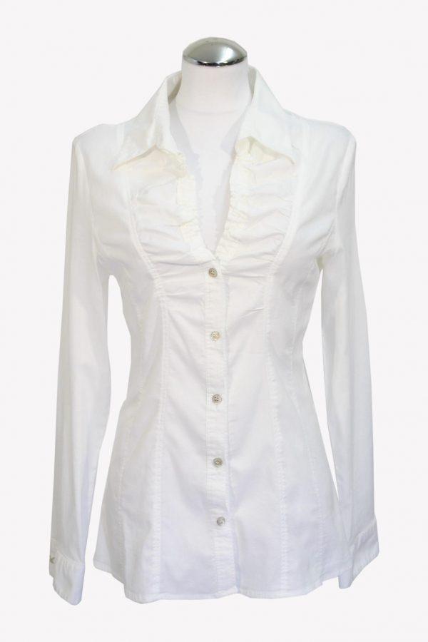 Armani Bluse in Weiß aus Baumwolle aus Baumwolle Alle Jahreszeiten.1