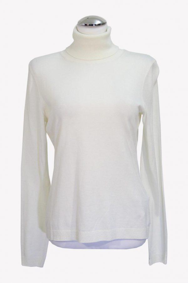Hugo Boss Pullover in Weiß aus Baumwolle aus Baumwolle Herbst / Winter.1