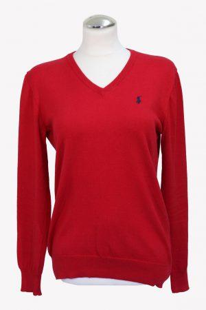 Ralph Lauren Pullover in Rot aus Baumwolle aus Baumwolle Alle Jahreszeiten.1