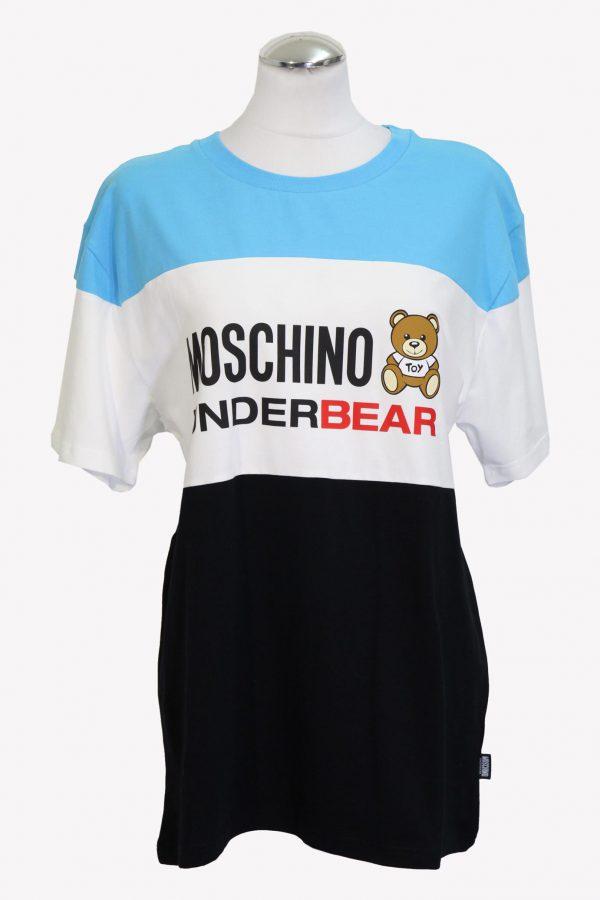 Moschino T-Shirt in Multicolor aus Baumwolle aus Baumwolle Alle Jahreszeiten.1