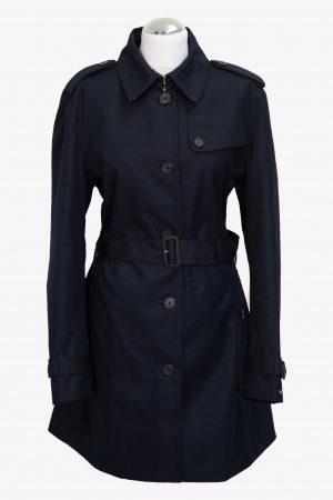Tommy Hilfiger Trenchcoat in Blau aus Baumwolle aus Baumwolle Alle Jahreszeiten.1