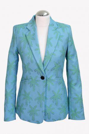 Fabienne Chapot Blazer in Blau aus Polyester Alle Jahreszeiten.1