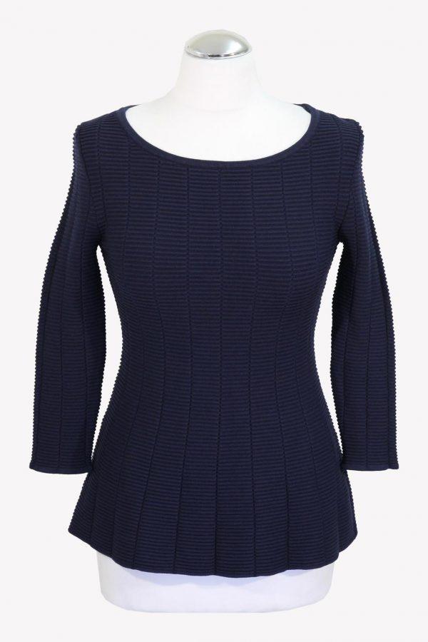 Hugo Boss Pullover in Blau aus Viskose Alle Jahreszeiten.1