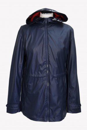 Tommy Hilfiger Regenjacke in Blau aus Polyester Alle Jahreszeiten.1