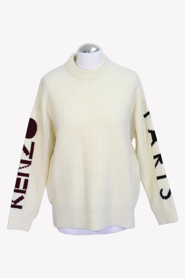 Kenzo Pullover in Creme aus Wolle aus Wolle Herbst / Winter.1