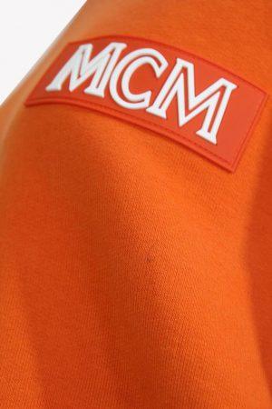 Pullover in Orange aus Baumwolle MCM